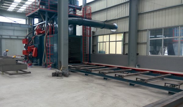 Sandblast Machine-Havit Steel Structure