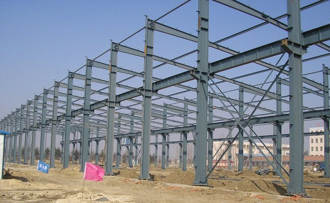 Tie Beam China Steel Structure Building Warehouse