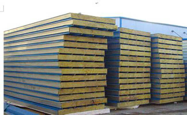 Rock Wool Sandwich Panel : Building system primary framing secondary