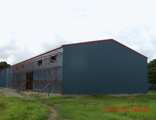 Steel Warehouse for Papua New Guinea