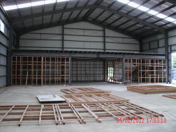 Steel Warehouse Papua New Guinea