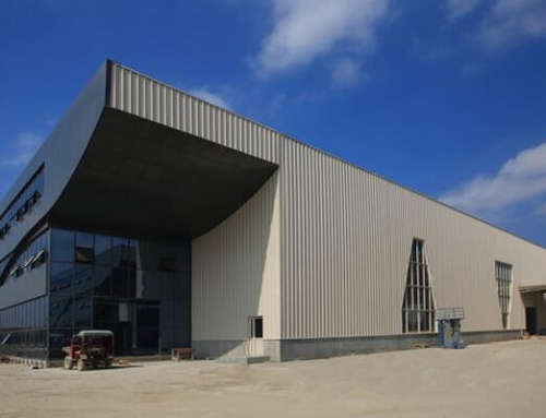 Steel structure is the best way to solve high energy consumption industrial buildings