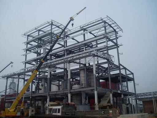 steel structure industrial buildings