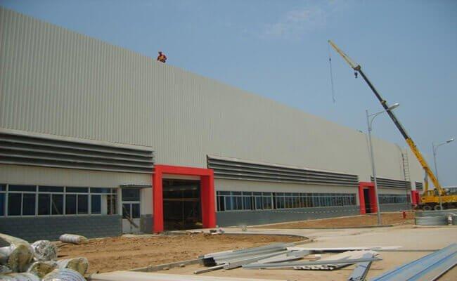 Steel Workshop Building