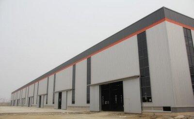Steel Factory Building