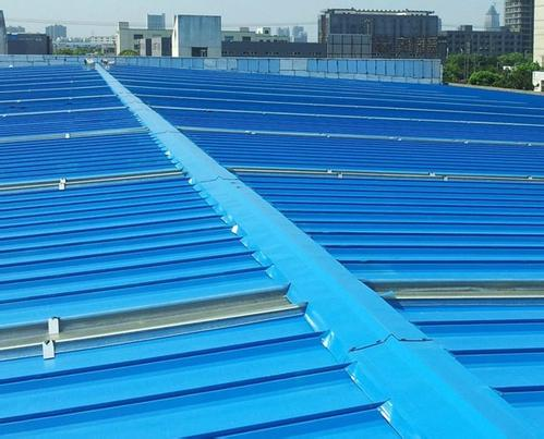 steel building roof material