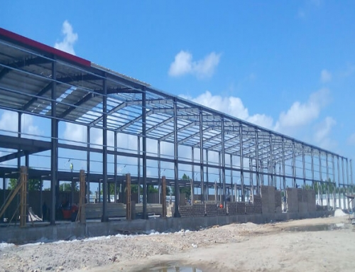 Steel Workshop Building in Tanzania