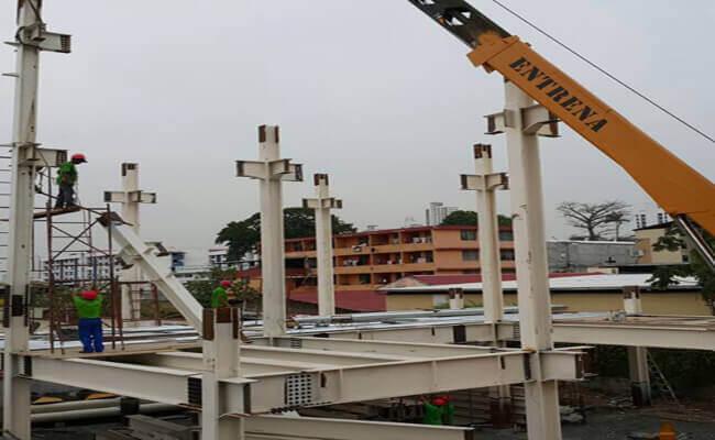 High Rise Steel Frame Building